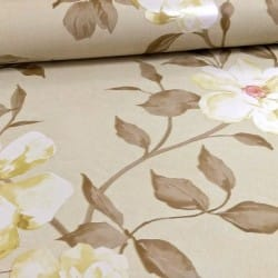 Flower Pattern Rose Motif Wallpaper