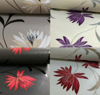 Belgravia Floral Wallpaper