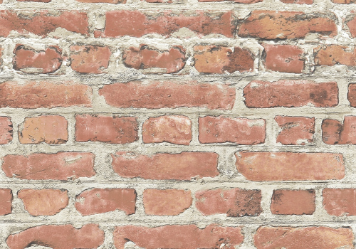 Rasch Brick-Effect Wallpaper