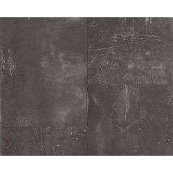 AS Creation Metal Panel Scratched Iron Faux Effect Industrial Wallpaper