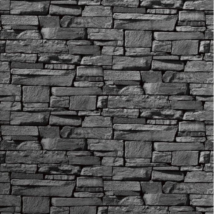 Grandeco Slate Brick Wallpaper
