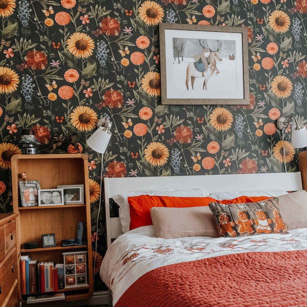 Arthouse Summer Garden Wallpaper, a 2021 top trend in wallaper