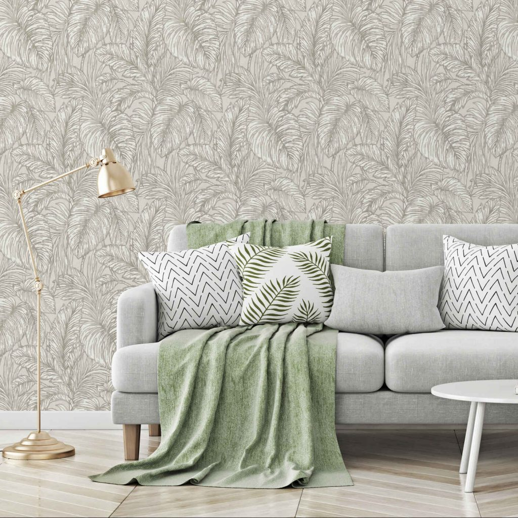 Erismann Botanical Leaf wallpaper, a 2021 trend