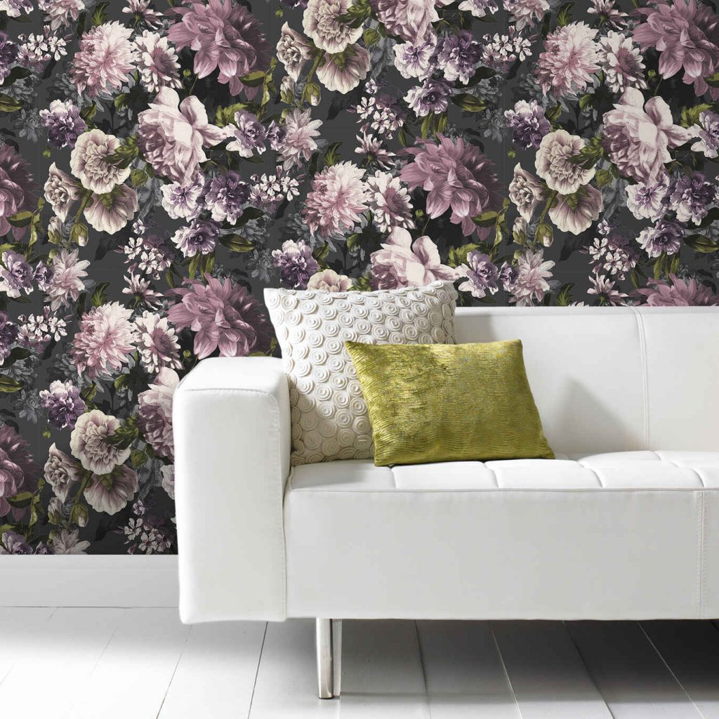 Grandeco Floral Secret Garden Wallpaper, a hot new trend for 2021