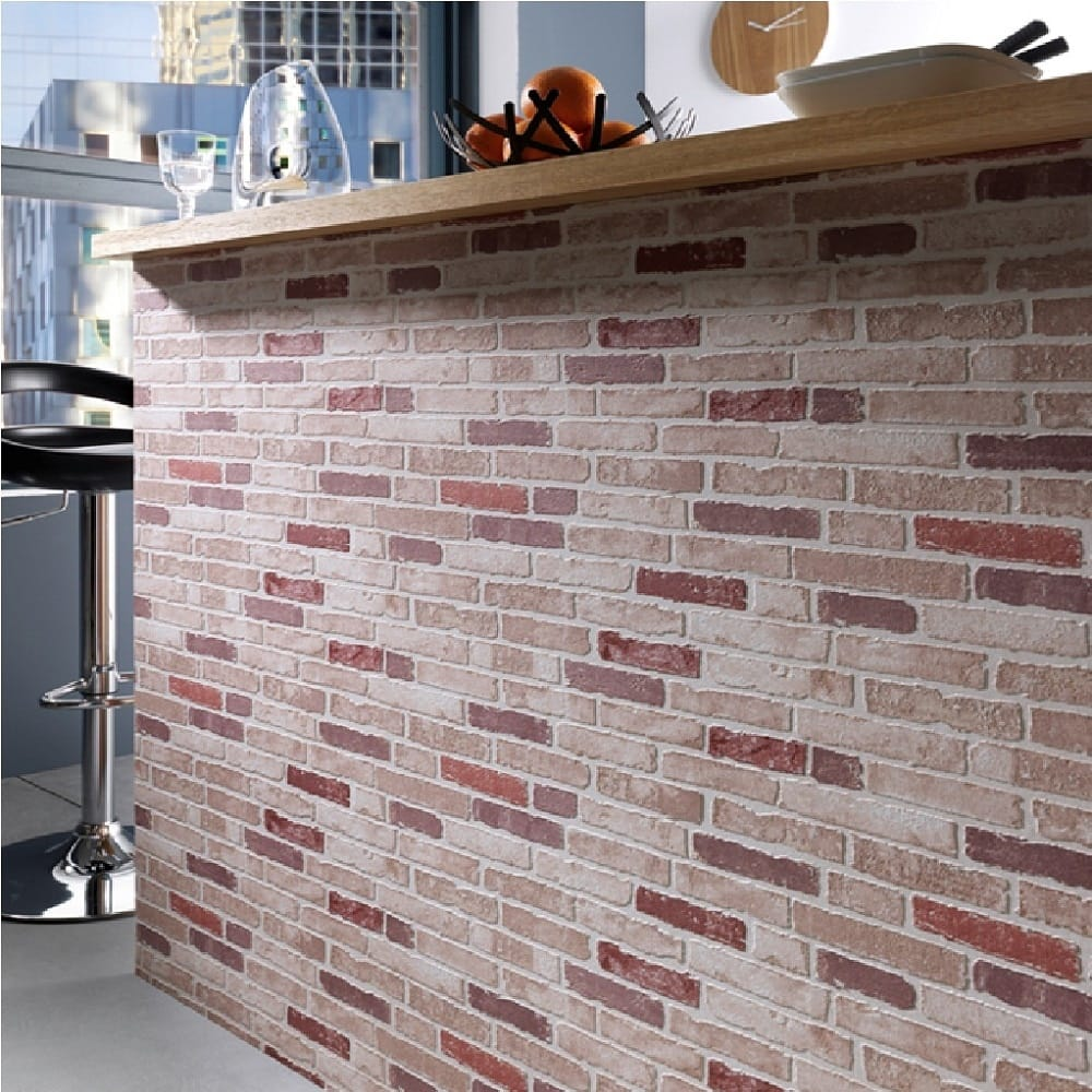 erisman embossed brick wallapaper