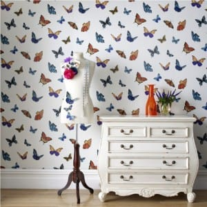 Flutterby designer wallpaper Julian Macdonald