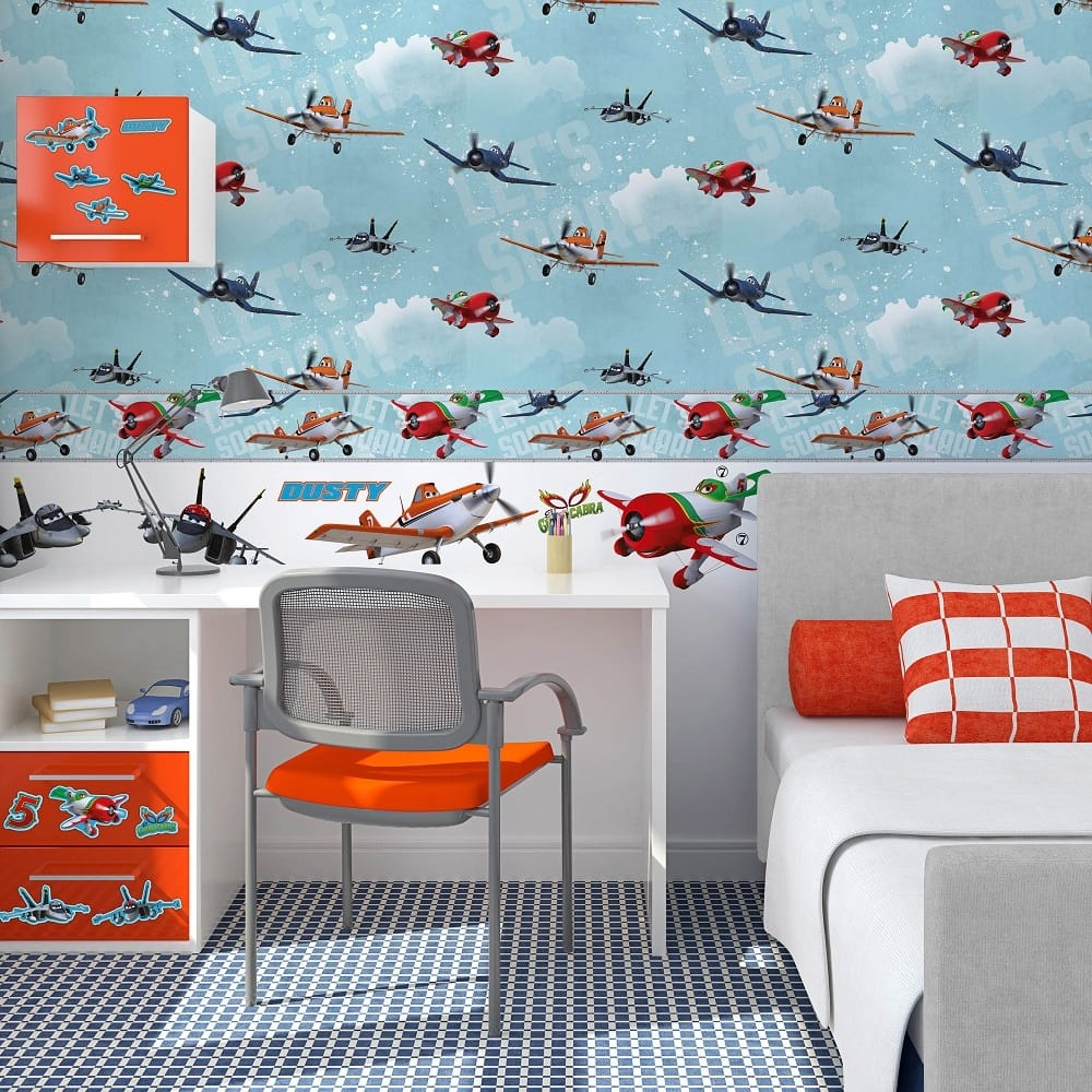 disney wallpaper for bedrooms.  Designing Inspiring Spaces for your Kids I Want Wallpaper