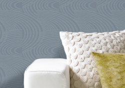 Grandeco Oasis Curve Stripe Pattern wallpaper