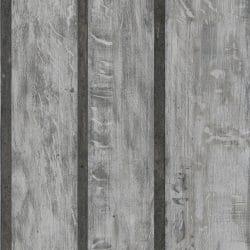 Muriva fake wood effect industrial wallpaper