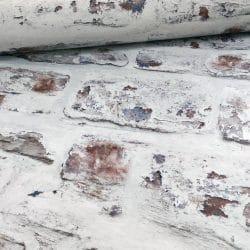 Arthouse White-Wash Brick Wallpaper