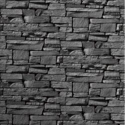 Grandeco Slate Brick Wallpaper