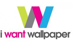 I Want Wallpaper Logo