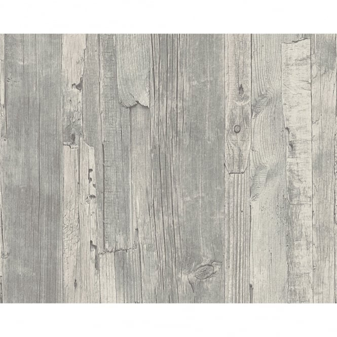 As Creation Distressed Driftwood Wood Panel Faux Effect Embossed Wallpaper 954054 P2034 3804 Medium