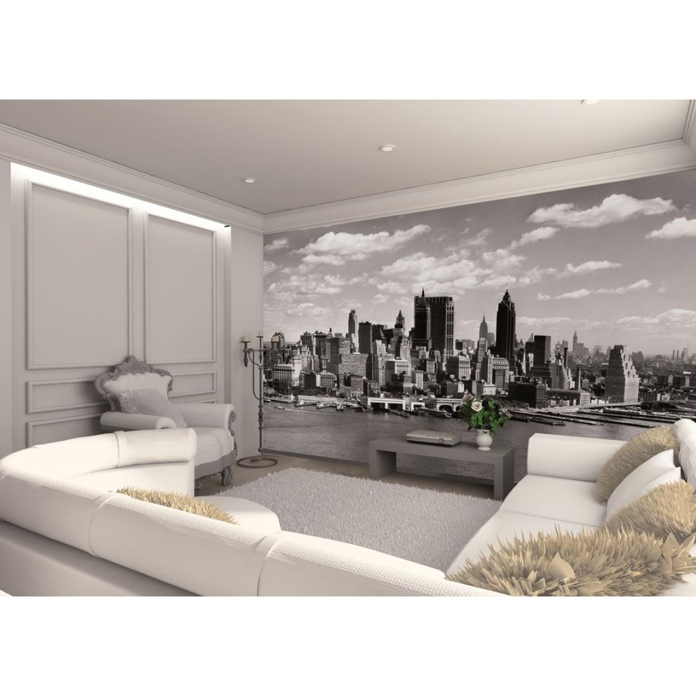 1 wall new york skyline photo giant poster x newyork 010. Black Bedroom Furniture Sets. Home Design Ideas