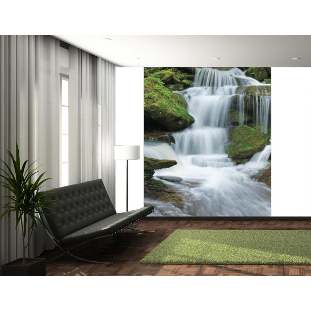 1Wall Tropical Forest Waterfall