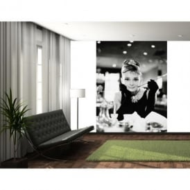 1 Wall Audrey Hepburn Breakfast At Tiffany's Photo Wallpaper Mural 1.58m x 2.32m