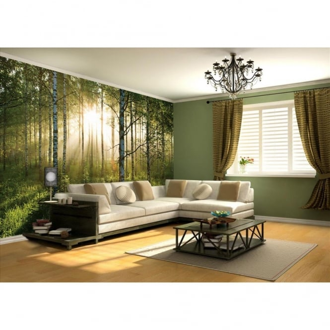 1 Wall Autumn Forest Giant Wallpaper Mural