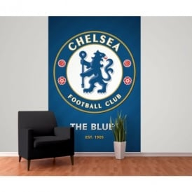 1 Wall Chelsea Football Club Crest Wallpaper Mural 1.58m x 2.32m