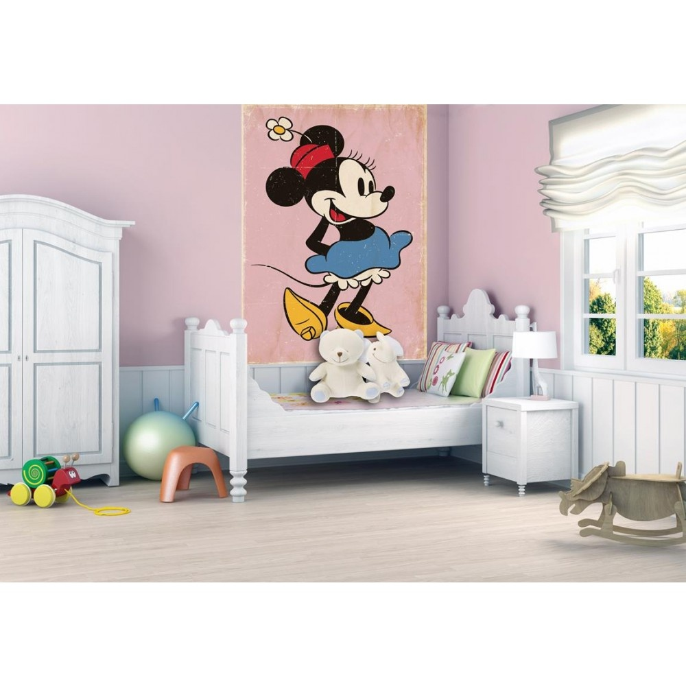 Marvelous 1 Wall Disney Minnie Mouse Retro Wallpaper Mural 1.58m X 2.32m Part 29