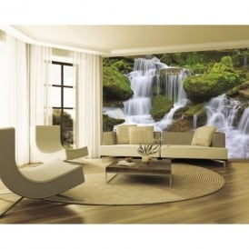 1 Wall Forest Waterfall Mural Photo Giant Poster 3.15 x 2.32m