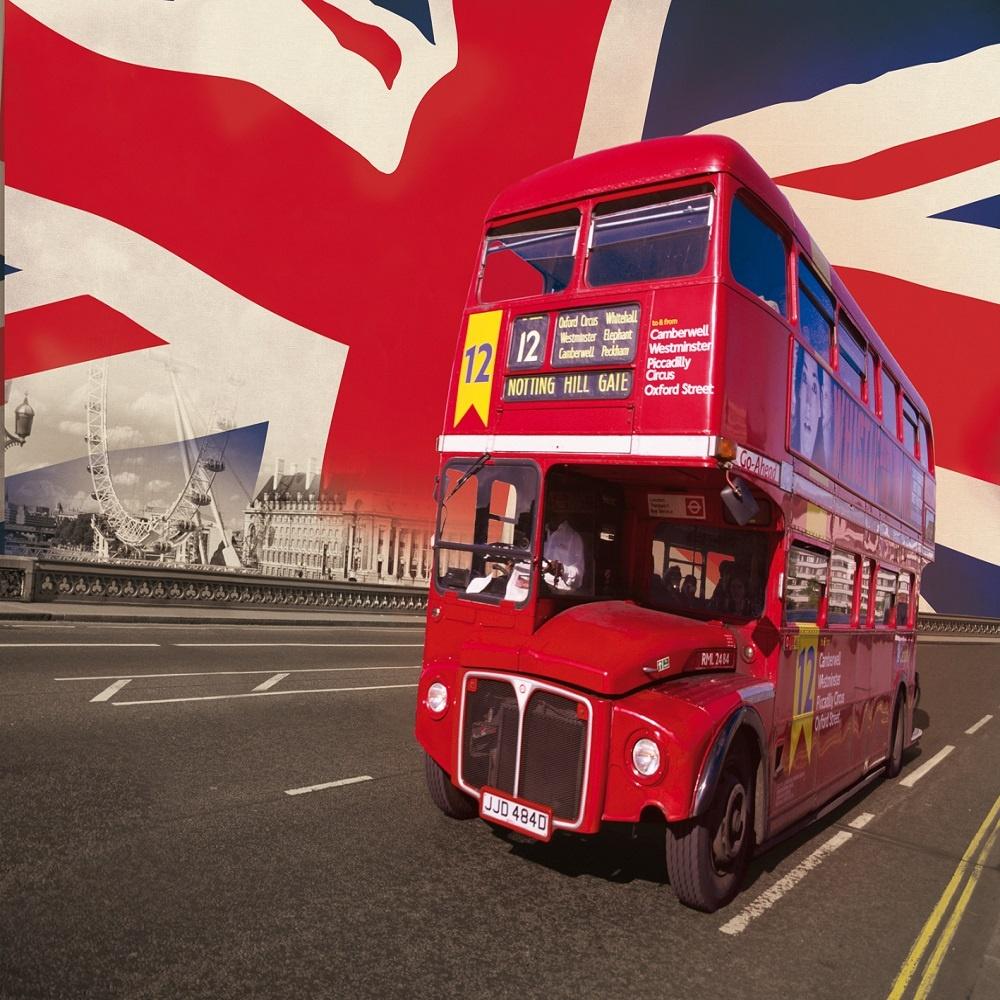 1 Wall London Bus Giant Wallpaper Mural