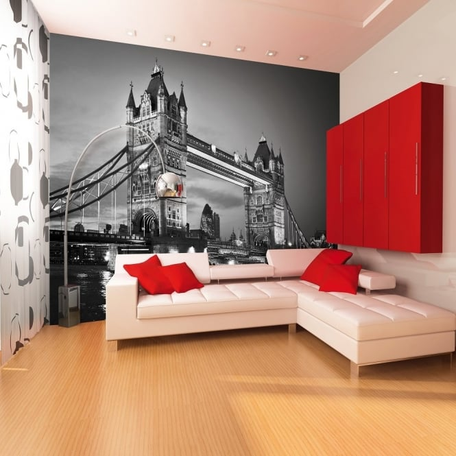 1 Wall London Tower Bridge Giant Wallpaper Mural TOWER-A-002