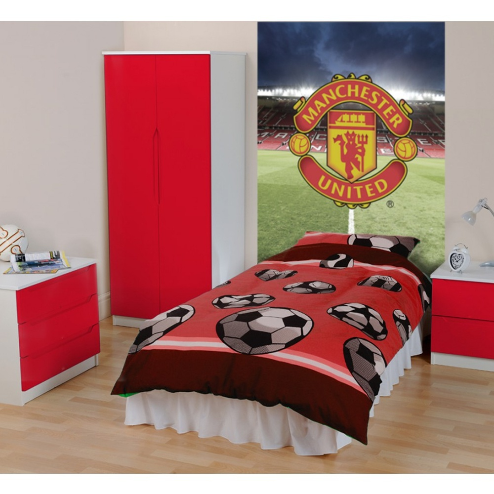 Man u wallpaper for bedroom wallpaper images for Man u bedroom accessories