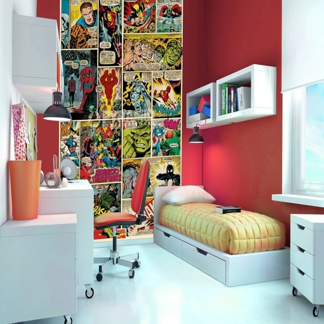 1 Wall Marvel Comics Wallpaper Mural