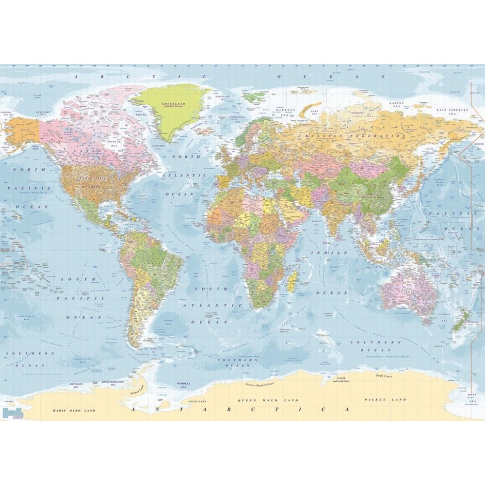 1 wall multi coloured atlas map photo giant poster 315 x 232m 1 wall multi coloured atlas map photo giant poster 315 x 232m gumiabroncs Images