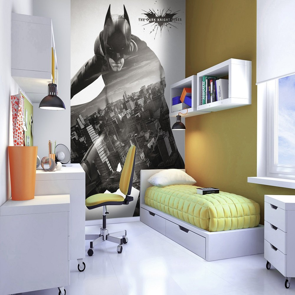 1 wall wallpaper mural batman the dark knight rises for Dark knight rises wall mural