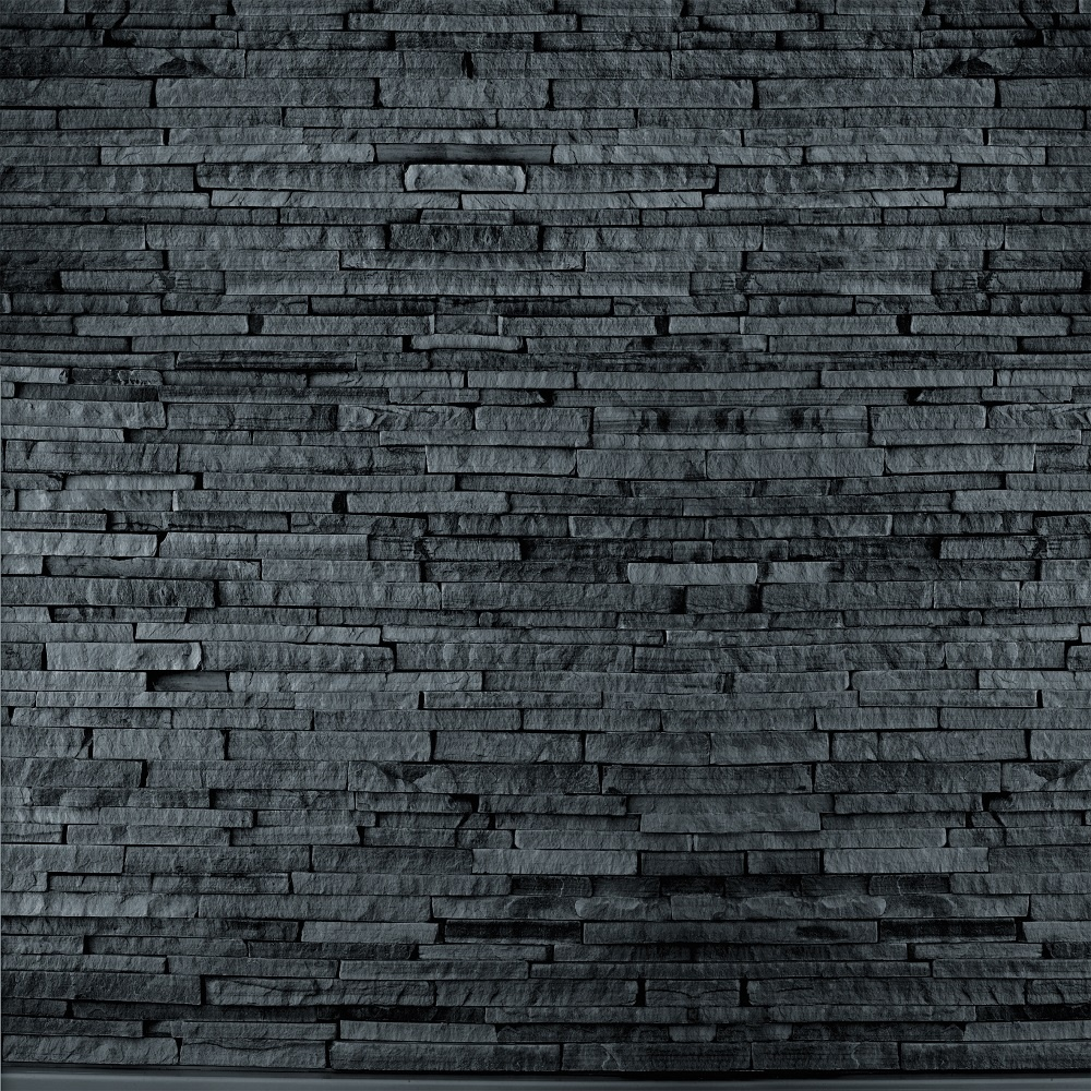 1 wall giant wallpaper mural slate stone brick effect 3 for Wallpapering a wall