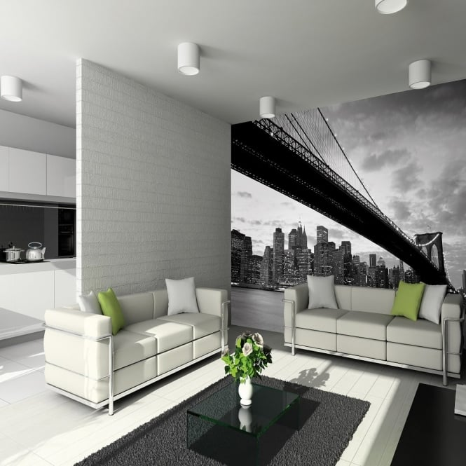 1 Wall New York Bridge Giant Wallpaper Mural