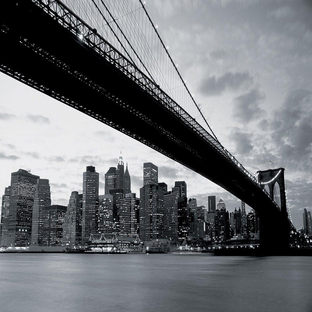 1 Wall New York Bridge Giant Wallpaper Mural New York Bridge I