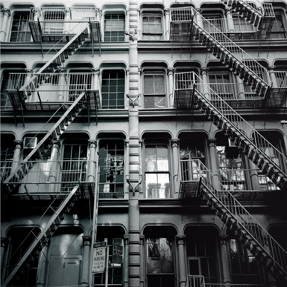 1 Wall New York Fire Escapes Giant Wallpaper Mural New York
