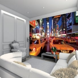 1 Wall New York Taxi Giant Wallpaper Mural