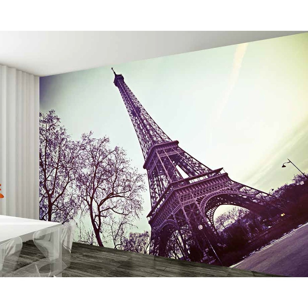 Attractive 1 Wall Paris Eiffel Tower Giant Wallpaper Mural Good Ideas