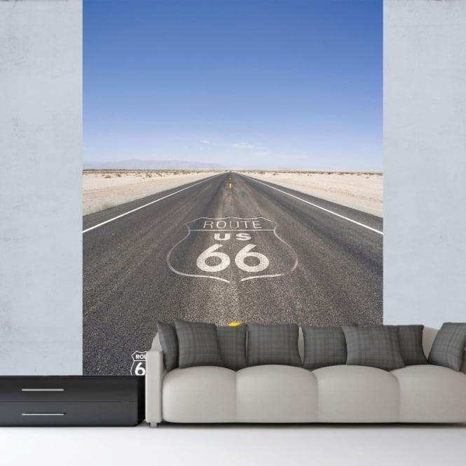 1 Wall Route 66 Road Mural Wallpaper America Photographic 1.58 x 2.32m