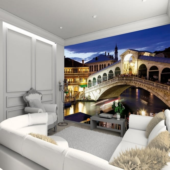 1 Wall Venice Rialto Bridge Giant Wallpaper Mural