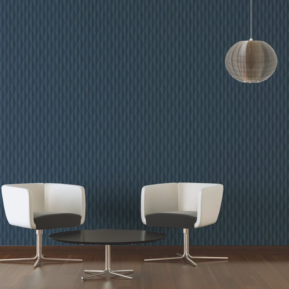 As Creation Abstract Leaf Pattern Wallpaper Geometric