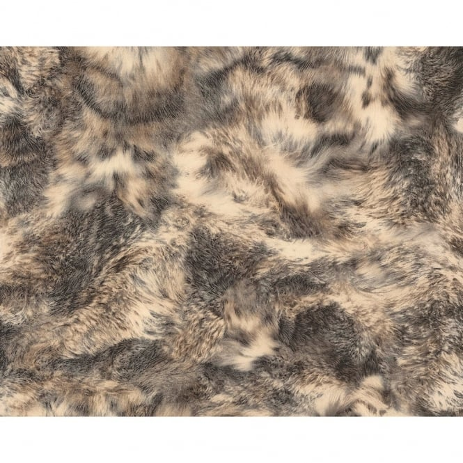A.S. Creation AS Creation Animal Fur Pattern Wolf Textured Non Woven Wallpaper 881717