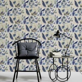 AS Creation Asian Bird Pattern Wallpaper Butterfly Motif Floral Embossed Vinyl 336341
