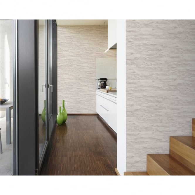 AS Creation Brick Wall Pattern Textured Faux Stone Effect ...