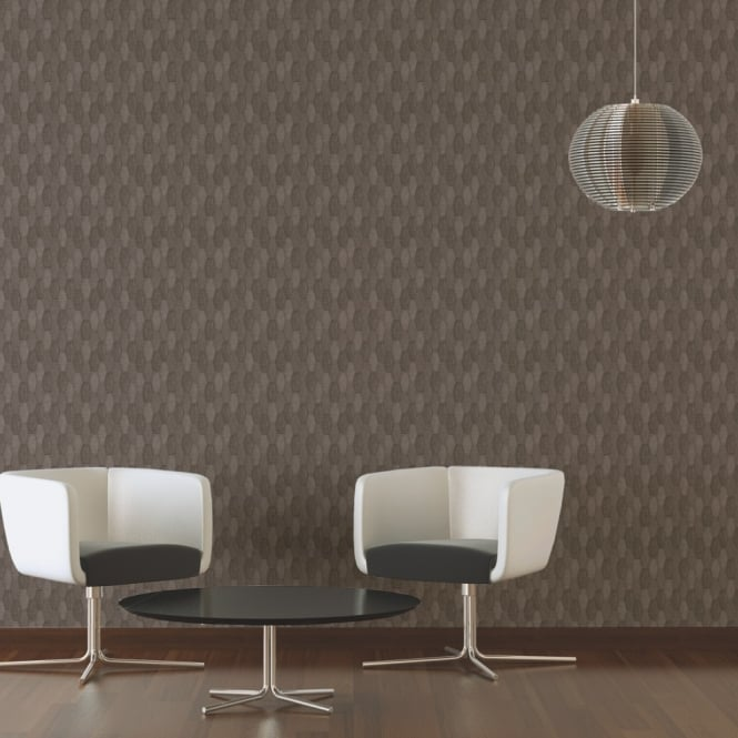 A.S. Creation AS Creation Canvas Fabric Effect Wallpaper Geometric Pattern Realistic Textured 306932