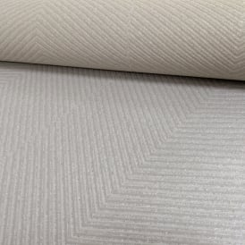 AS Creation Chevron Stripe Pattern Wallpaper Modern Embossed Glitter Motif 306985