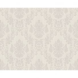 AS Creation Classic Baroque Damask Pattern Floral Motif Textured Wallpaper 304952