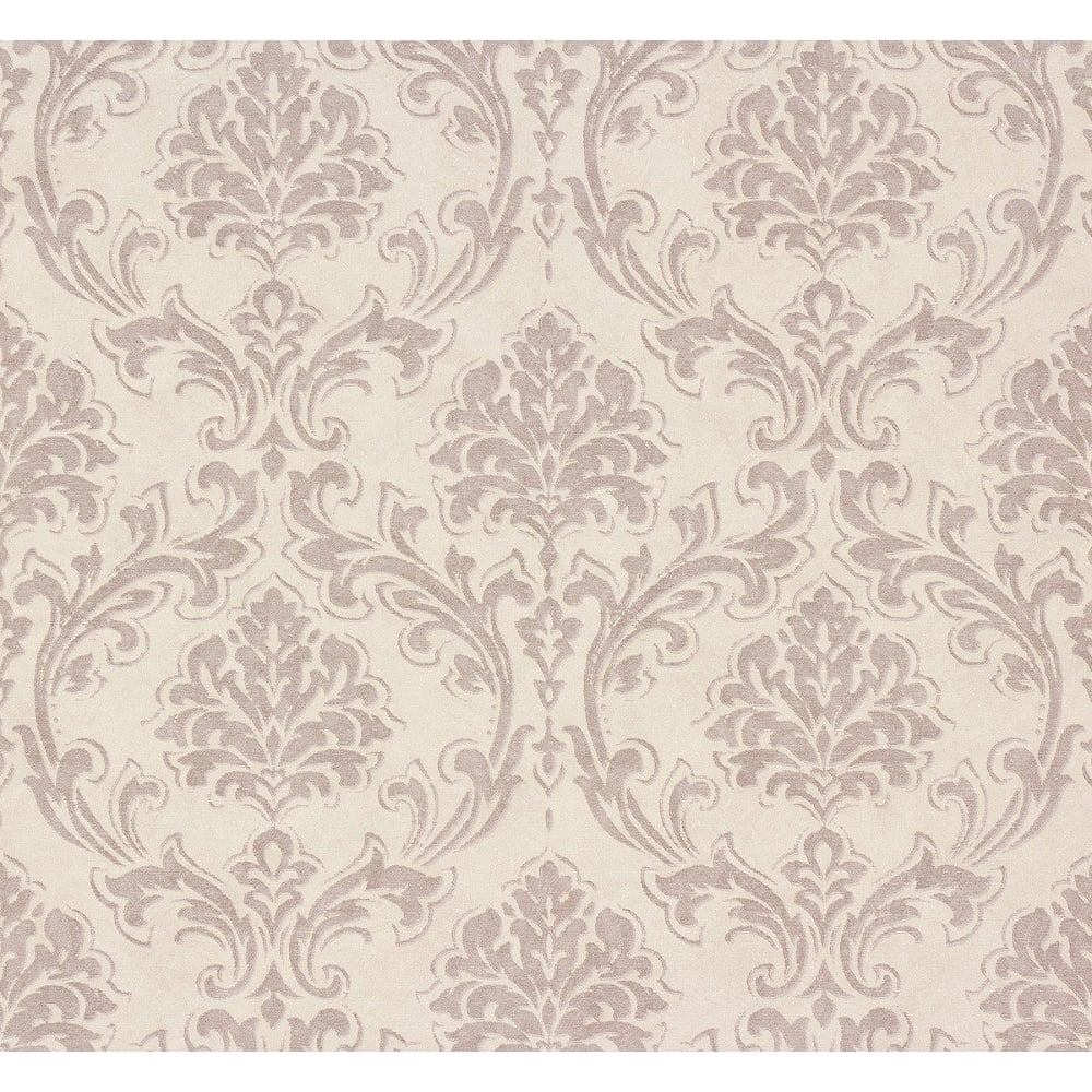 As Creation Classic Damask Pattern Fabric Motif Textured