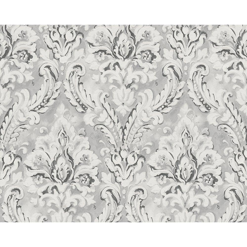 AS Creation Classic Damask Pattern Paint Motif Textured Vinyl Wallpaper 304945