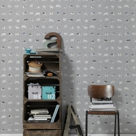 AS Creation Cow Pattern Kitchen Wallpaper Polka Dot Spots Motif Embossed 324594