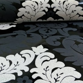 AS Creation Damask Pattern Wallpaper Floral Leaf Embossed Glitter Motif 313959
