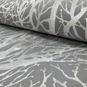 AS Creation Forest Pattern Wood Tree Metallic Pearl Motif Embossed Wallpaper 300943